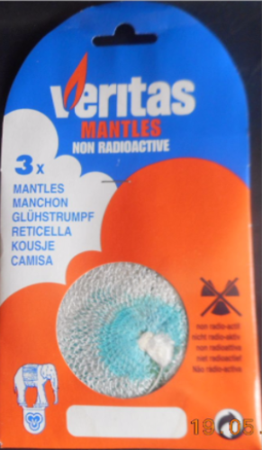 Veritas Mantles For Named Gas lamps